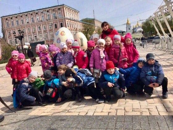 1-Б клас_ писанка на Софіївській
