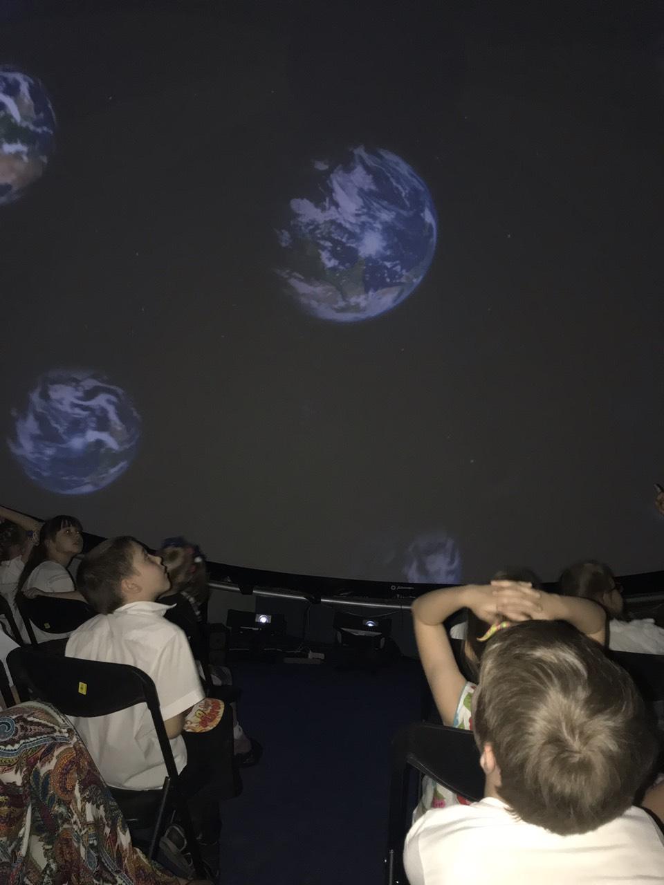1-Г в планетарії